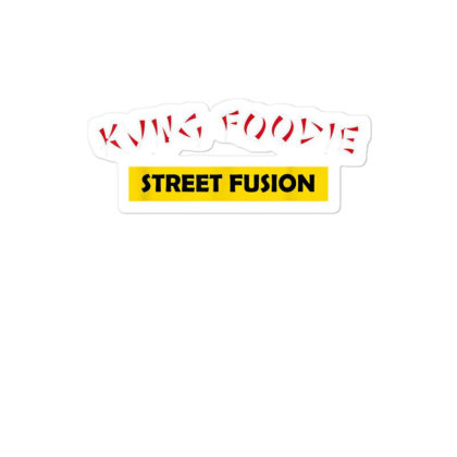 Kung Foodie Street Fusion Asian Chinese Food Sticker Designed By Mrt90
