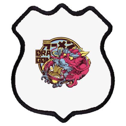 Dragon Ramen Shield Patch Designed By Dirjaart