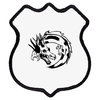Dragon Shield Patch Designed By Dirjaart