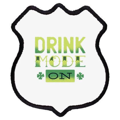 Drink Mode Shield Patch Designed By Dirjaart