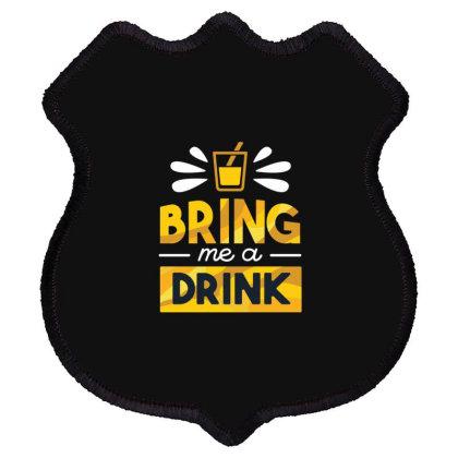 Drink Shield Patch Designed By Dirjaart