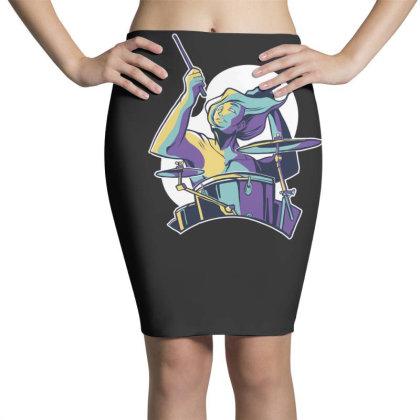 Drummer Pencil Skirts Designed By Dirjaart