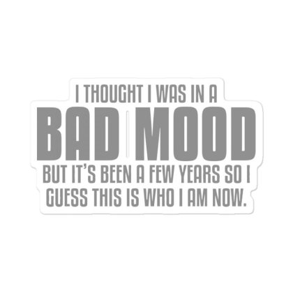 Bad  Mood Sticker Designed By H3lm1
