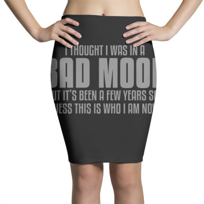 Bad  Mood Pencil Skirts Designed By H3lm1