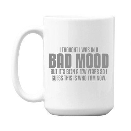 Bad  Mood 15 Oz Coffe Mug Designed By H3lm1
