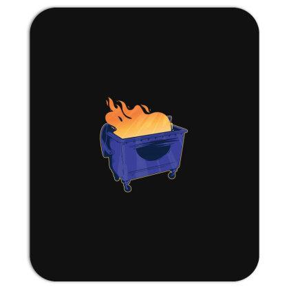 Dumpster Fire Mousepad Designed By Dirjaart