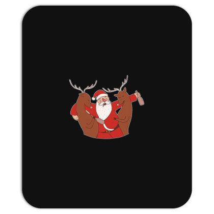 Drunk Santa Mousepad Designed By Dirjaart