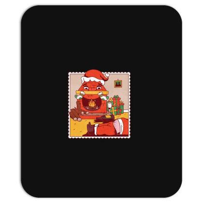 Drunk Santa Christmas Mousepad Designed By Dirjaart