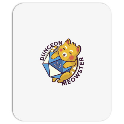 Dungeon Meowster Mousepad Designed By Dirjaart