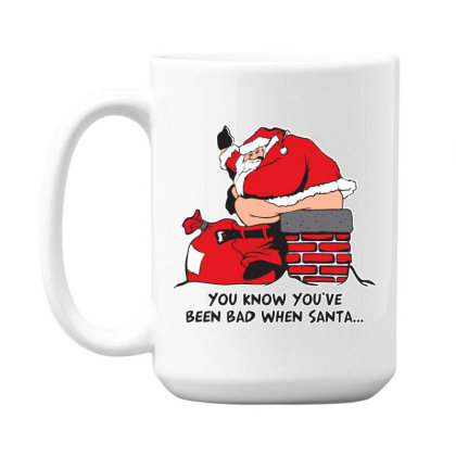 Bad  Santa 15 Oz Coffe Mug Designed By H3lm1