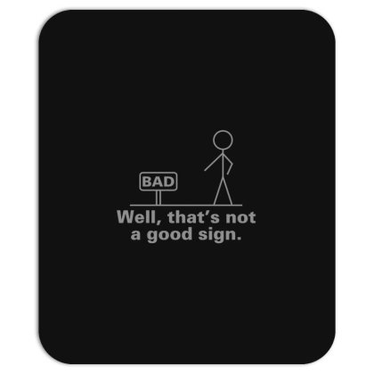Bad  Sign Mousepad Designed By H3lm1