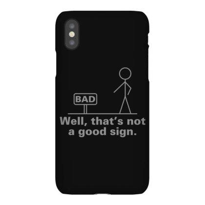 Bad  Sign Iphonex Case Designed By H3lm1