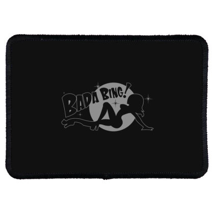 Bada  Bing Rectangle Patch Designed By H3lm1