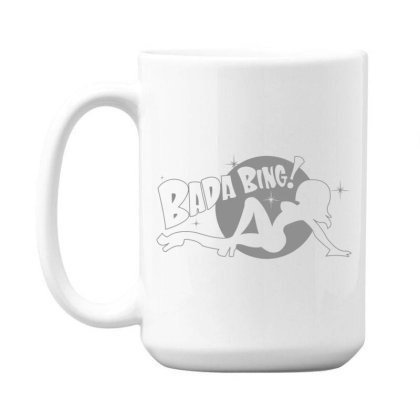 Bada  Bing 15 Oz Coffe Mug Designed By H3lm1
