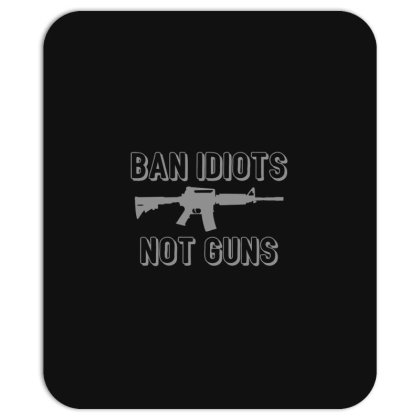 Ban  Idiots Mousepad Designed By H3lm1