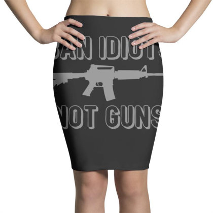 Ban  Idiots Pencil Skirts Designed By H3lm1