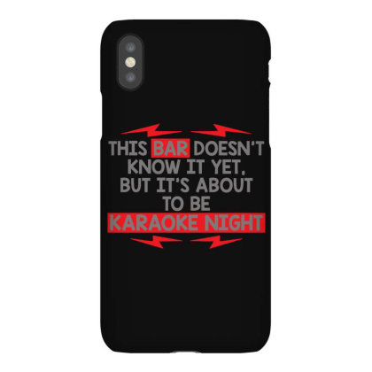 Bar  Night Iphonex Case Designed By H3lm1