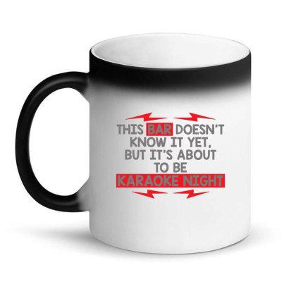 Bar  Night Magic Mug Designed By H3lm1