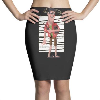 Drunk Man Pencil Skirts Designed By Dirjaart