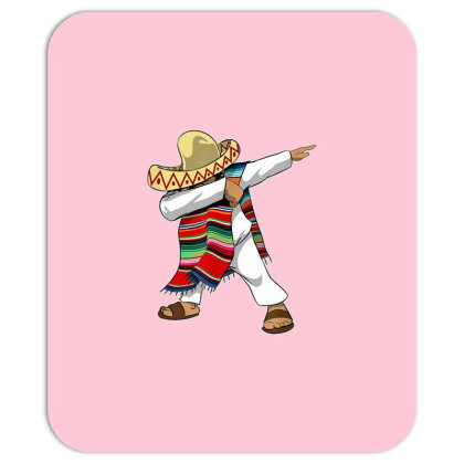Mexican Poncho Dabbing Mousepad Designed By Mrt90