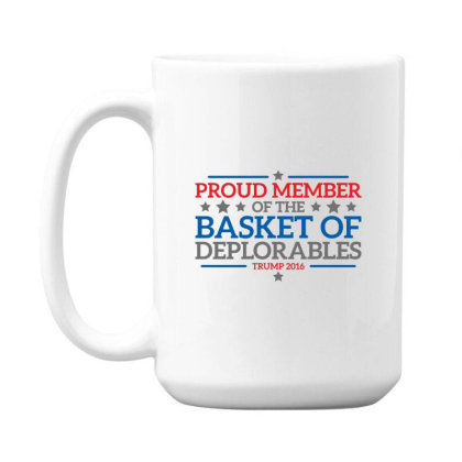 Basket  Trump 15 Oz Coffe Mug Designed By H3lm1
