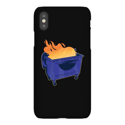 Dumpster Fire Iphonex Case Designed By Dirjaart