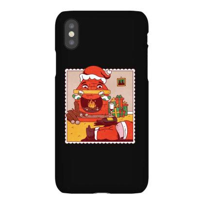 Drunk Santa Christmas Iphonex Case Designed By Dirjaart
