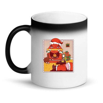 Drunk Santa Christmas Magic Mug Designed By Dirjaart