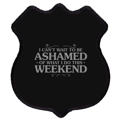 Be  Ashamed Shield Patch Designed By H3lm1