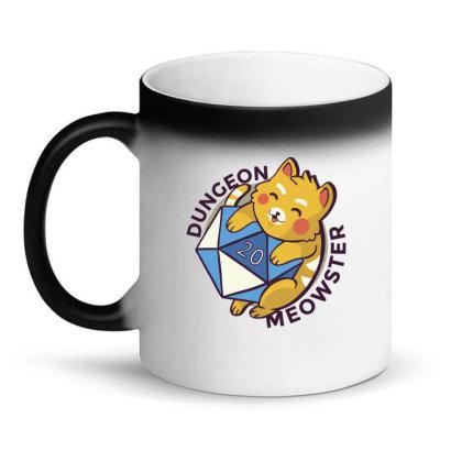 Dungeon Meowster Magic Mug Designed By Dirjaart