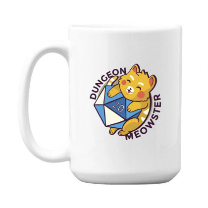 Dungeon Meowster 15 Oz Coffe Mug Designed By Dirjaart