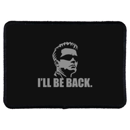 Be  Back Rectangle Patch Designed By H3lm1