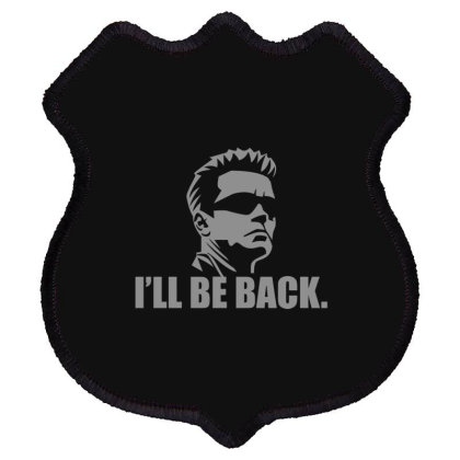 Be  Back Shield Patch Designed By H3lm1