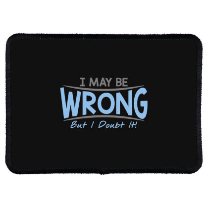Be  Wrong Rectangle Patch Designed By H3lm1