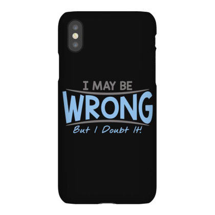 Be  Wrong Iphonex Case Designed By H3lm1