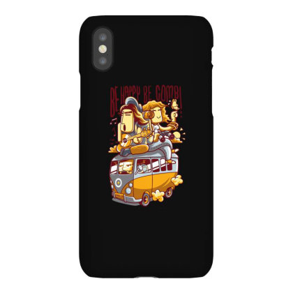Be Happy Be Combi Iphonex Case Designed By H3lm1