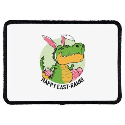 Easter Dinosaur Rectangle Patch Designed By Dirjaart