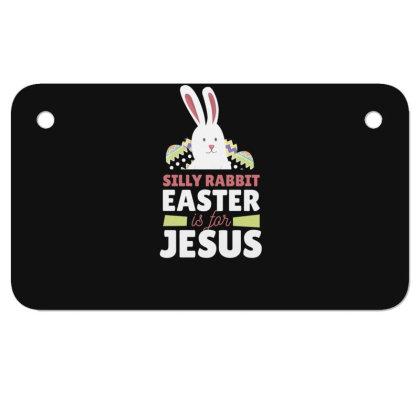 Easter Is For Jesus Motorcycle License Plate Designed By Dirjaart