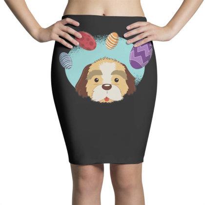 Easter Dog Pencil Skirts Designed By Dirjaart