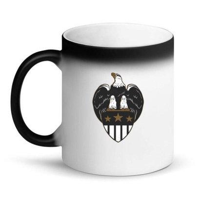 Eagle Shield Magic Mug Designed By Dirjaart