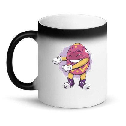 Easter Egg Floss Magic Mug Designed By Dirjaart