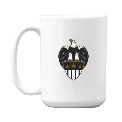 Eagle Shield 15 Oz Coffe Mug Designed By Dirjaart