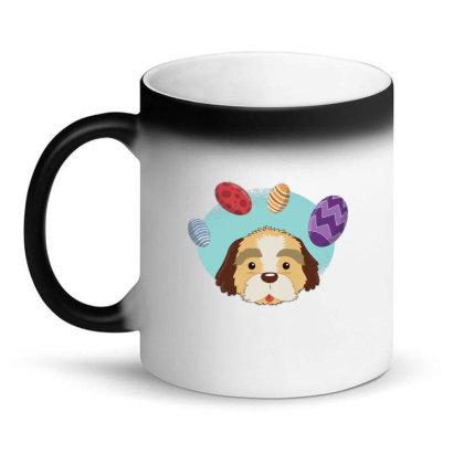 Easter Dog Magic Mug Designed By Dirjaart