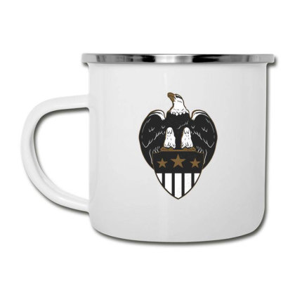 Eagle Shield Camper Cup Designed By Dirjaart