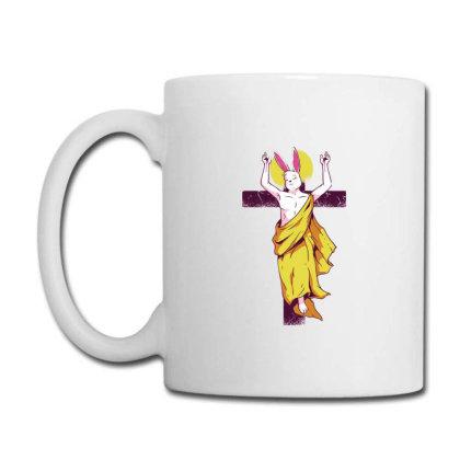 Easter Bunny Resurrection Coffee Mug Designed By Dirjaart