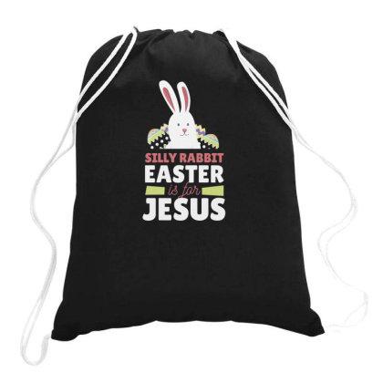 Easter Is For Jesus Drawstring Bags Designed By Dirjaart