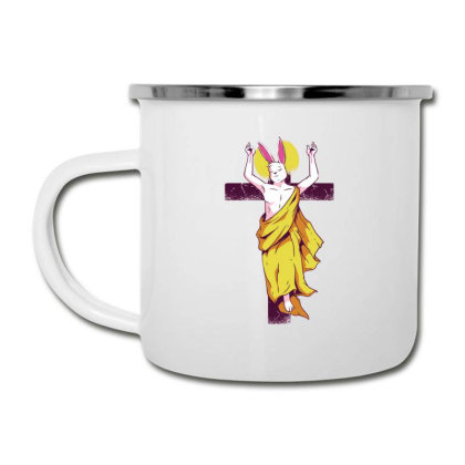 Easter Bunny Resurrection Camper Cup Designed By Dirjaart