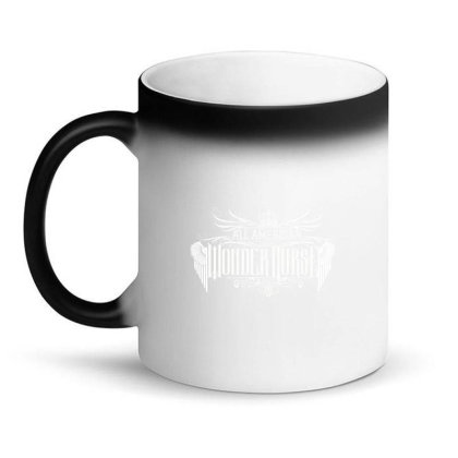 All American Wonder Nurse Magic Mug Designed By Tiococacola