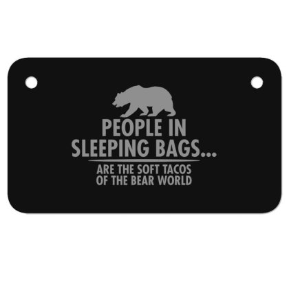 Bear  World Motorcycle License Plate Designed By H3lm1
