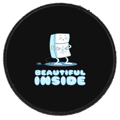 Beautiful Inside Round Patch Designed By H3lm1